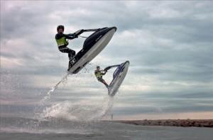 figures jet ski