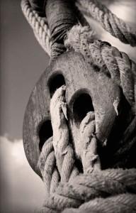 poulie voilier vieux gréements