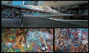 mur Marvel Madrid